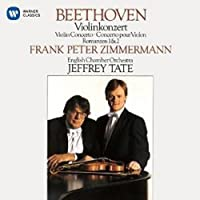 Beethoven: Violin Concerto. Romances by Frank Peter Zimmermann (2015-08-19)