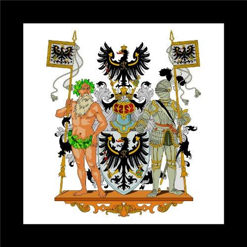 Michael & Rene Pflüger Barmstedt Autoaufkleber Ostpreussen Preussen Wappen Deutsches Reich Auto Sticker Aufkleber