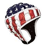 Gilbert Falcon 200casque de–USA, Rouge, blanc, bleu