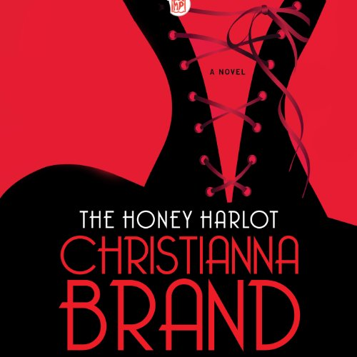 The Honey Harlot audiobook cover art