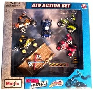 Maisto Fresh Metal Die Cast Motorized ATV Action Set