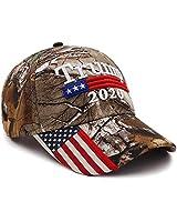 ANATYU Adjustable Camo Trump 2020 Hat - Keep America Great 3D Embroidery Flag Donald Trump MAGA Baseball Cap