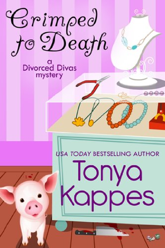 Crimped To Death : A Cozy Mystery (A Divorced Diva Mini-Mystery Series Book Two) (English Edition)