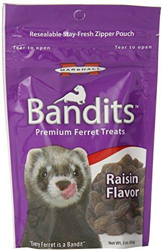 Marshall Bandits Furet Treat, 85 Gram, Raisin
