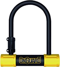 ONGUARD Bulldog Mini U-Lock (Black, 3.55 x 5.52-Inch)