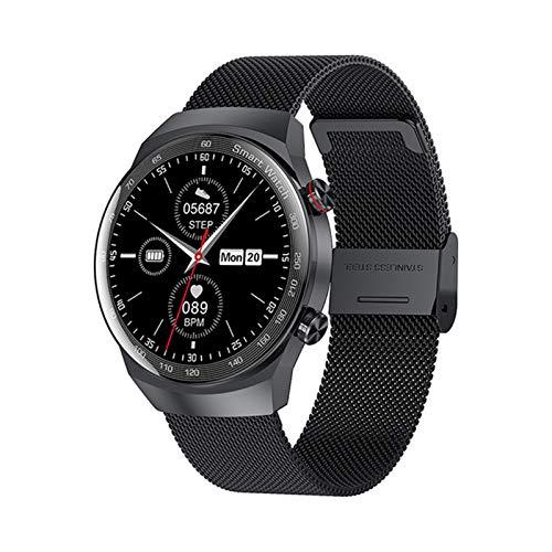 YDK AK26 Música Smartwatch Presión Arterial Bluetooth Llamada Pulsera Smart Watch Tasa De Corazón Sleep Local Play Deportes Pedometp,C