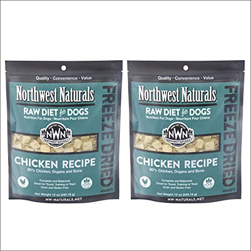 Northwest Naturals Freeze Dried Raw Diet for Dogs...