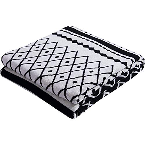 Kuingbhn Couverture en Peluche Texture décorative Throw Blanket Super Soft Confortable élégant for Chaise Canapé Canapé lit Lit Lit Living Blanket Chambre et Blanket Sofa pour canapé, lit, canapé