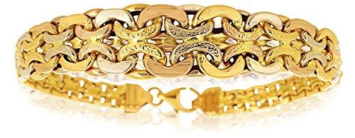 Bracelet Maille Fantaisie Or Jaune 750/1000