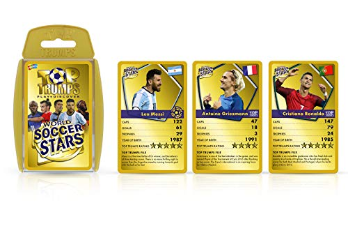 World Soccer Stars Top Trumps Card …