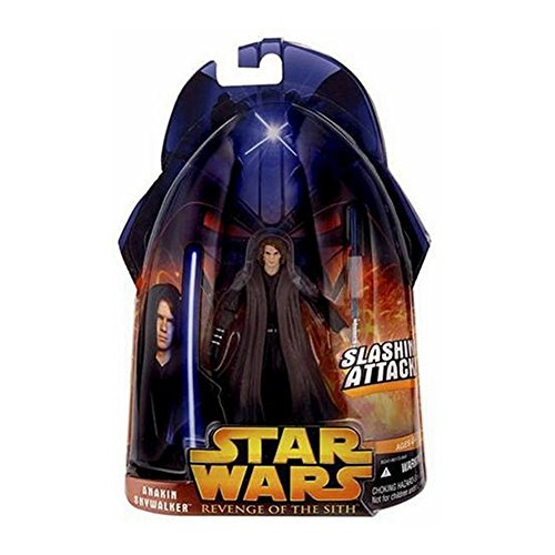 Star Wars Revenge of the Sith Anakin Skywalker Slashing Attack #28 Action Figure