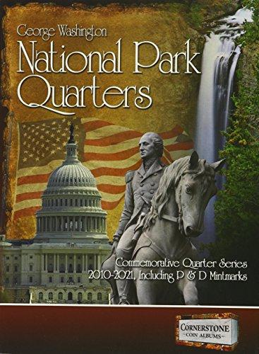 National Park Quarters Album 2010-2021 P&D (Cornerstone Coin Albums)