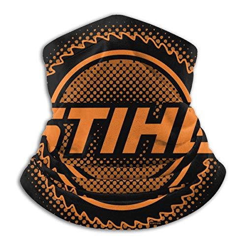 ALLdelete# Hals Gamasche Schal Atmungsaktives Bandana Outdoor Windproof Sport Bandana Schal Bandana - STIHL Kettensägen Logo