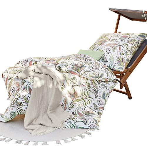 Irisette Bettwäsche Soft-Jersey Natur Größe 135x200 cm (80x80 cm)
