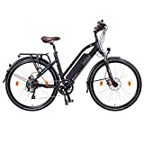 "NCM Milano Plus Urban E-Trekking E-Bike 48V 16Ah 768Wh Schwarz 28"""