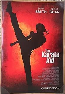 THE KARATE KID MOVIE POSTER 2 Sided ORIGINAL FINAL 27x40 JADEN SMITH JACKIE CHAN