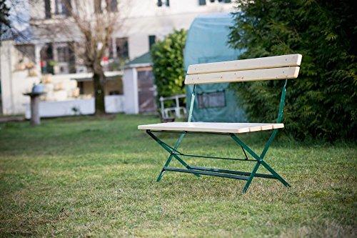 Habrita - HABRITA - Banc de jardin VICHY en sapin pliable 4 personnes