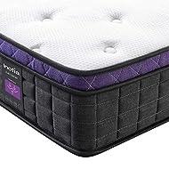 Inofia Double Mattress,Memory Foam and Spring Mattress 25cm,SMAX Collection,Sleeping Maximum,Motion ...