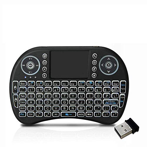 Nirvani Mini Wireless Keyboard and touchpad Mouse with Smart Function for Smart TV, Android TV, Laptops, Computer and Mobile Phones