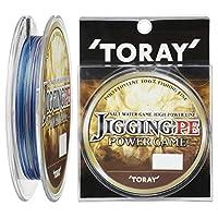 東レ(TORAY) PEライン ジギングPE パワーゲーム 200m 1号 13lb 6kg 4本 5色