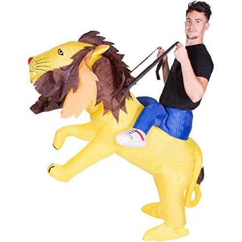 Bodysocks® Déguisement Lion Gonflable Adulte