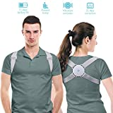 Posture Corrector for Wemen/Men/Kids, Back Brace Posture Corrector with Intelligent Sensor Vibration Reminder