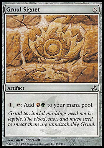 Magic: the Gathering - Gruul Signet - Guildpact