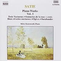 Satie;Piano Works Vol.1