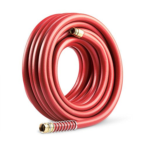 Gilmour 840501-1001 25034050 Comm RBR/Vin Hose, 3/4 by 50', Red