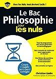 Le Bac Philosophie Pour Les Nuls