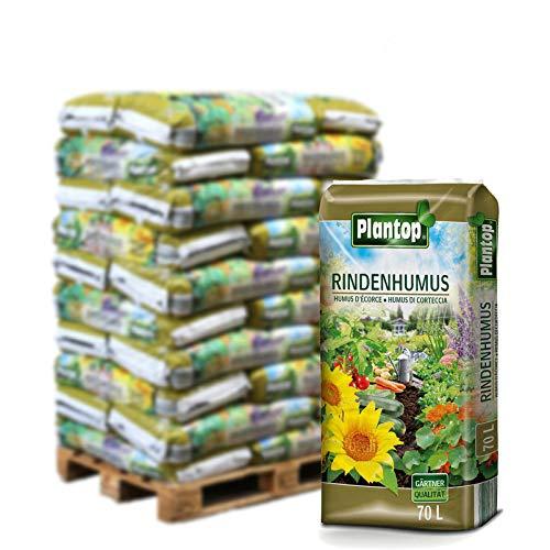 Plantop Rindenhumus 30 Sack á 70 l, Palettenware ohne zusätzliche Versandkosten