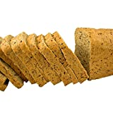 Low Carb Multi Grain Bread (25 Slice Loaf)- Fresh Baked, All Natural, Sugar Free, High Protein, Diabetic Friendly, Keto Bread, Low Carb Bread
