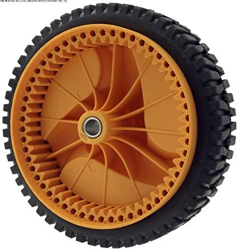 liutao Accesorios para Cortacéspedes 2 Paquete de 196 MM Cortacésped Wheel Compatible con Husqvarnaa McCulloch 5324025-67, 5324029-36, 532402567, 532402936 Accesorios para Herramientas de jardín