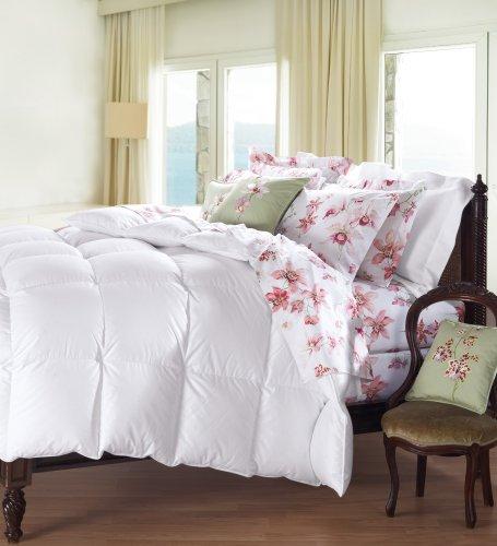 Cuddledown 800 Fill Power Batiste Down Comforter, Queen, Blanket White