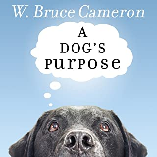 A Dog's Purpose audiobook cover art