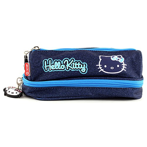 Hello Kitty 00567 Target Astuccio Tetra, Jeans