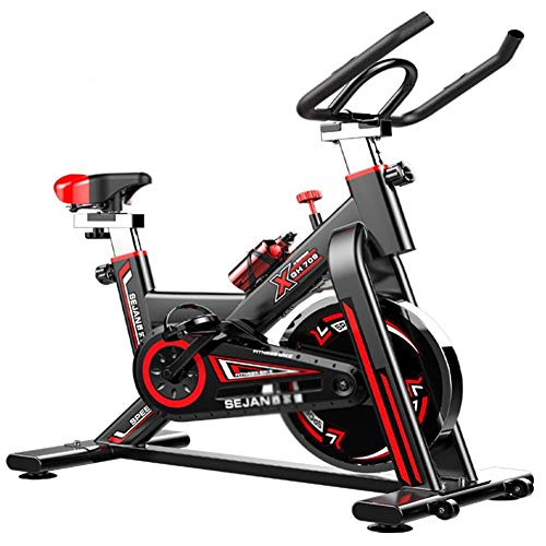 Best Prices! QAQA Indoor Cycling Exercise Bike, Direct Belt Driven 6Kg Flywheel, Magnetic Resistance...