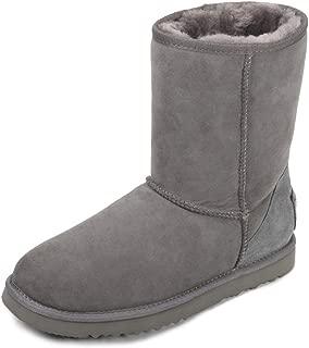 AUSLAND Women's Classic Sheepskin Half Snow Boots