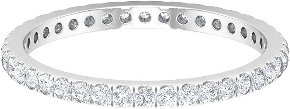 Full Eternity Band Gold Bands White Women 14K Max 84% OFF for Manufacturer OFFicial shop