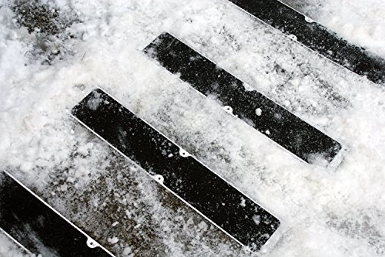 Bolt Down Anti Slip Plates, Black Coarse 4.5 x25