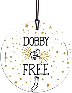Trend Setters Harry Potter - Dobby is Free - Starfire Prints Hanging Glass Collectible