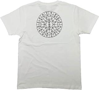 ふとまに コットン生地Tシャツ 麻炭印刷 伯舟庵