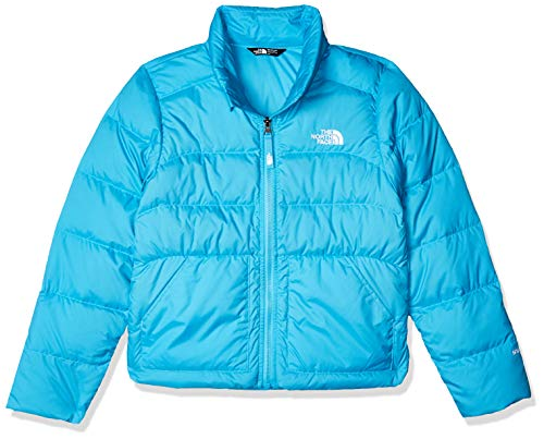 The North Face Girls' Andes Down Jacket, Turquoise Blue, M