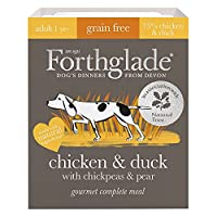 WET DOG FOOD TRAYS - Contains 7 x 395g trays of Grain Free Chicken & Duck wet dog food, made by dog lovers in Devon NATURAL INGREDIENTS - We only use natural ingredients with added vitamins & minerals to make sure that your four-legged friend gets th...