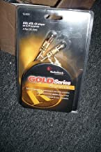 Radio Shack Gold Series RCA Stereo Audio Cable (3-FT / 91.4cm)