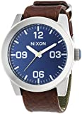 Nixon Men's Analogue Quartz Watch with Leather Strap A2431656