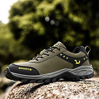 أحذية كاجوال للرجال - أحذية كاجوال للتسلق أحذية رياضية غير قابلة للانزلاق للرجال أحذية رياضية مضادة للماء للرحلات والتخييم...