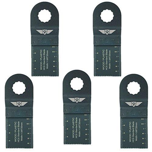 5 x 35mm TopsTools RV35F_5 Feinzahn Klingen Kompatibel mit Draper MT250A 23038, MT250 31328, Wickes 235510, Renovator Multifunktionswerkzeug Multifunktionswerkzeug-Zubehör