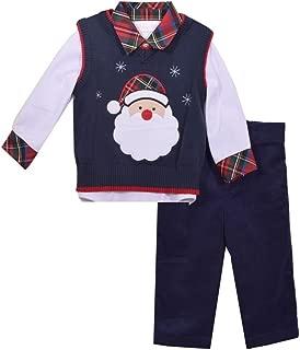 santa shirt and vest