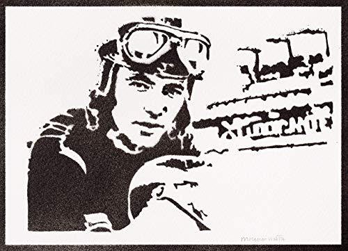 Angel Nieto Poster Plakat Handmade Graffiti Street Art - Artwork